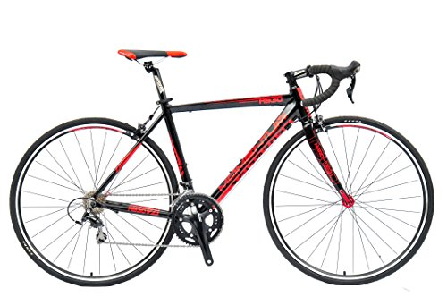 CLEARANCE SALE Momentum Racing Road Bike R530 – 20 Speed Shimano 105 Groupset, Hydroformed Double Butted 6061 Aluminum Alloy Frame, Hi Modulous Carbon Forks, 700c Wheels With Quick Release Hubs