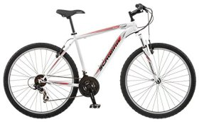 Schwinn High Timber Men's 18 Mountain Bike, 18-Inch/Medium, White