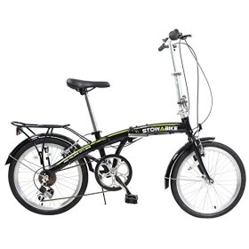 Stowabike 20″ Pro Alloy Folding Compact City Road Bike 6 Speed Shimano Bicycle