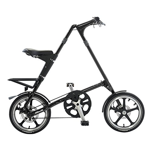 STRiDA EVO folding bicycle, unqiue design, folds to 45x20x9, 16 inch wheels, Unisex