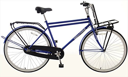 Hollandia  Amsterdam M1 Dutch Cruiser Bike, 28 inch Wheels, 19 inch Frame, Men's Bike, Blue