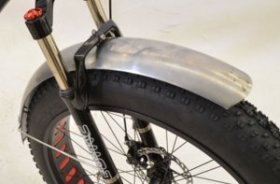 Fat Bike Fenders 100mm wide Steel