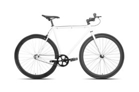 50cm CM Fixie Fixed Gear Single Speed Urban Road Bike Flip-Flop Hub BICYCLES White /Black