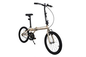 Columba PR20S Folding Bike Gold (PR20S_Gold)