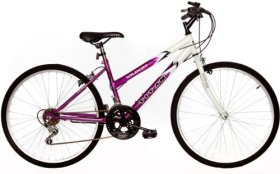Titan Wildcat Ladies Mountain Bike (Lavender/White, 26-inch)