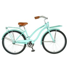 Hollandia  Holiday F1 Cruiser Bicycle, 26 inch wheels, 11 inch frame, Women's Bike, Mint Green