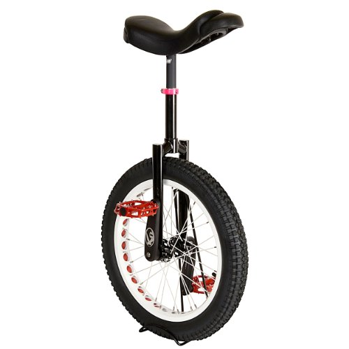 Koxx XForm Midnight 2.0 Trials Unicycle, Black, 12.7cm/20-Inch