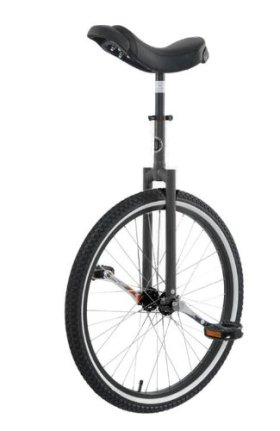 Club 24″ Freestyle Unicycle-Black