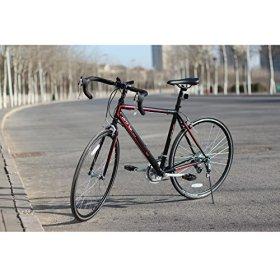 unYOUsual U speed 700C*520mm 14 Speed Racing Road Bike Bicycle Shimano Gear Reflectors Double Wall Rim caliper brake