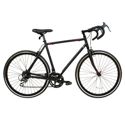 Road Bike by Corsa – 22in Matte Black R16