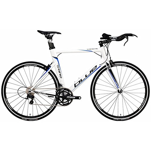2015 Blue Bicycles Triad AL Shimano 105 Complete Triathlon Road Bike Medium