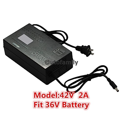 42V 2A Power DC Head Charger for 36V Lithium Li-on E-bike bottle Battery Charger Scooter