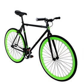 Fixed Gear Bike Zycle Fix Bicycle Green Monster Fixie Bike