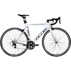 2015 Blue Bicycles AC1 AL Shimano 105 Aero Road Bike 57cm M/L White/Blue