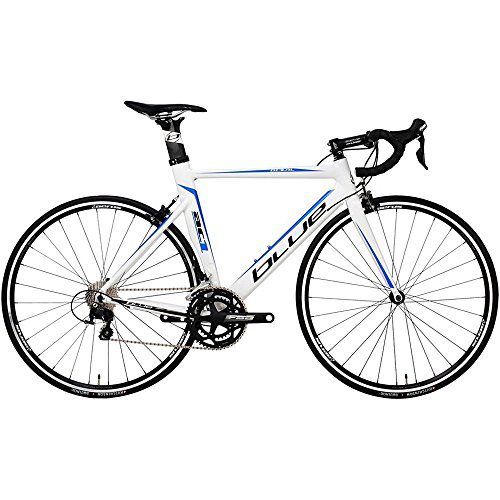 2015 Blue Bicycles AC1 AL Shimano 105 Aero Road Bike 57cm M/L White/Blue