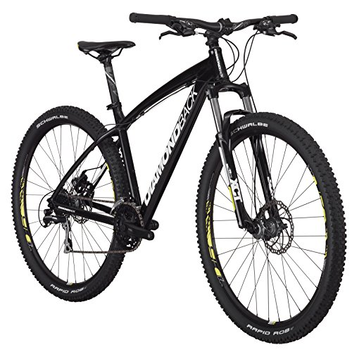Diamondback Bicycles Overdrive 29er Complete READY RIDE Hardtail Mountain Bike, 20″/Large Black