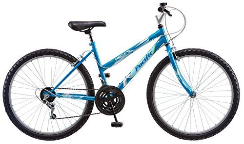 Pacific Women's Stratus Mountain Bike, Blue, 26-Inch