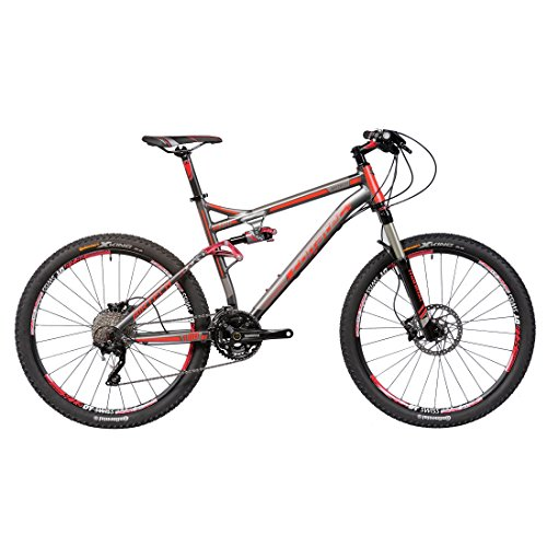 Corratec AirTech Glacier Mountain bike 19 Inch Anthracite Red