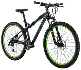 Diamondback Bicycles 2016 Women's Lux Hard Tail Complete Mountain Bike, 27.5-Inch Wheels, Dark Blue, 15″ Frame
