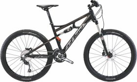Upland Dual Suspension Mountain Bike Fate 27.5 Medium (Orange)