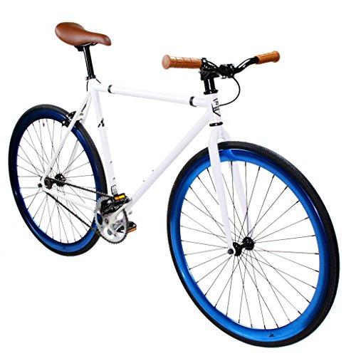 Zycle Fix Fixed Gear Bike Pearl Fixie 55CM