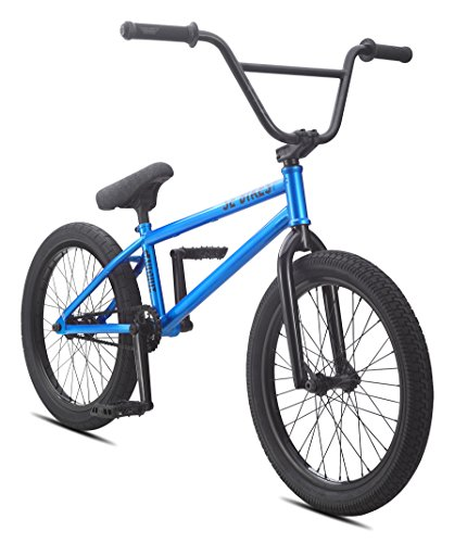 SE Bicycles Gaudium BMX Bicycle, Blue Metal, 20″/One Size