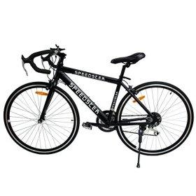 Ridgeyard 26 inch Wheels Black Shimano Racing Road Bike 54cm Aluminum 21 Speed 700C Men's Hybrid Bicycle Mountain Bike