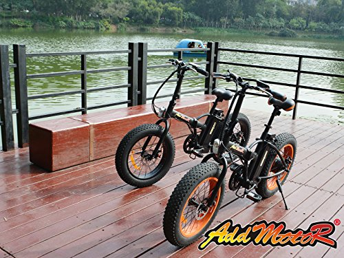 Addmotor® MOTAN M-150 Folding Electric Bicycle 500W 48V Bafang Motor 10.4AH Samsung Lithium Battery Electric Bike For Sale With Shimano 7 Speeds Fat Tire