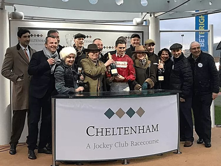 Benny's Bridges Winner Gap at Cheltenham | Biddestone Racing