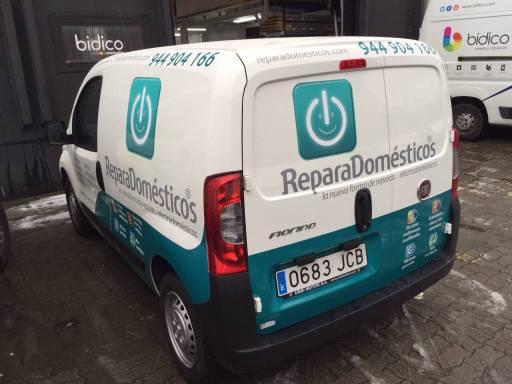 Rótulos para furgonetas: vinilos ReparaDomésticos 2