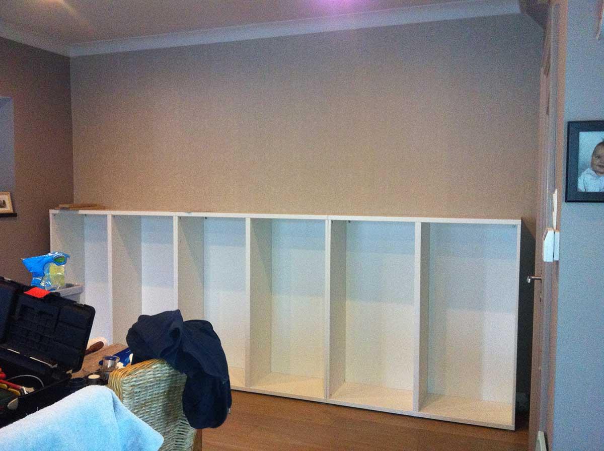 Un Mur Complet BESTA Bidouilles IKEA