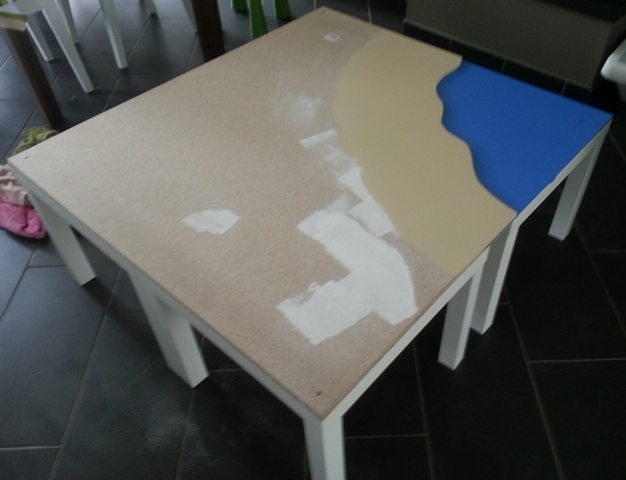 Une Table De Jeu Playmobil Avec LACK
