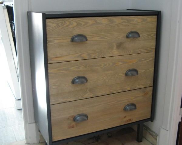 Commode RAST Industrielle Personnalise Bidouilles IKEA