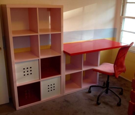 Une Chambre D Enfant Avec Kallax