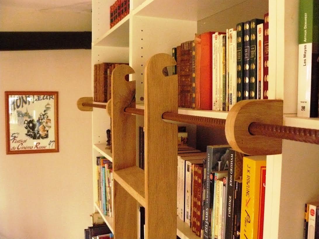 Une Chelle De Bibliothque BILLY Bidouilles IKEA