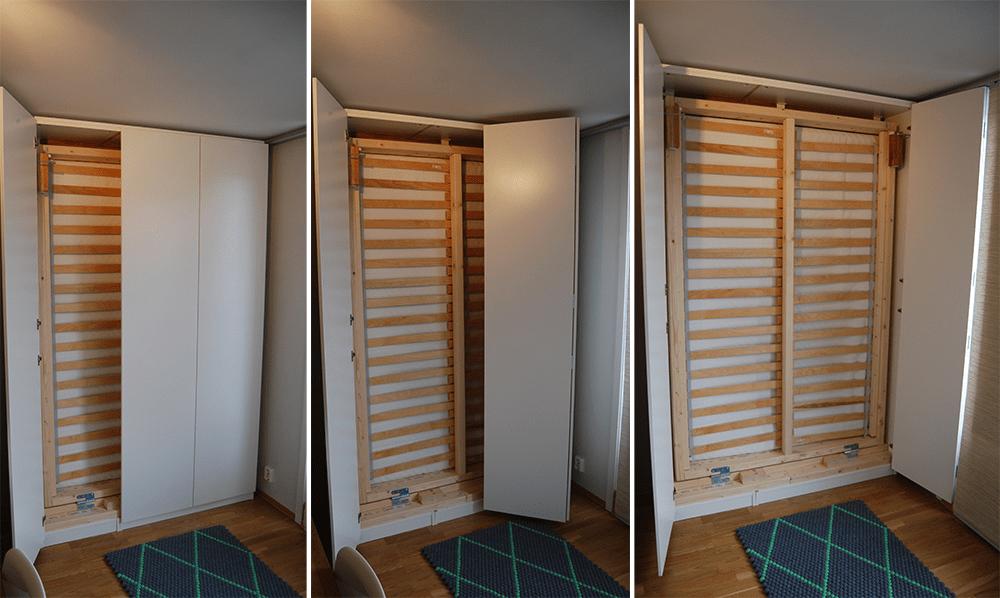 lit escamotable ikea diy avec une