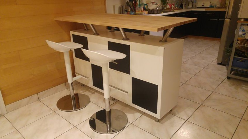 meuble cuisine bar rangement venus et