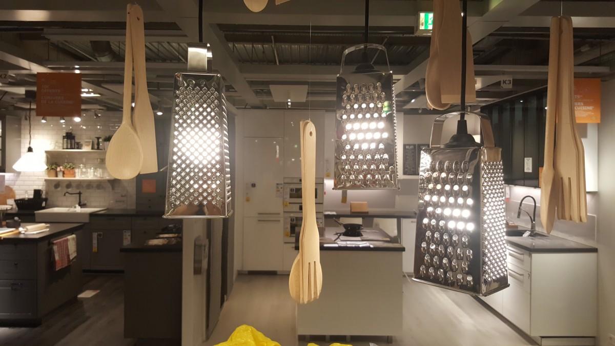 Une Suspension De Cuisine Ikea DIY Trs Originale Pour