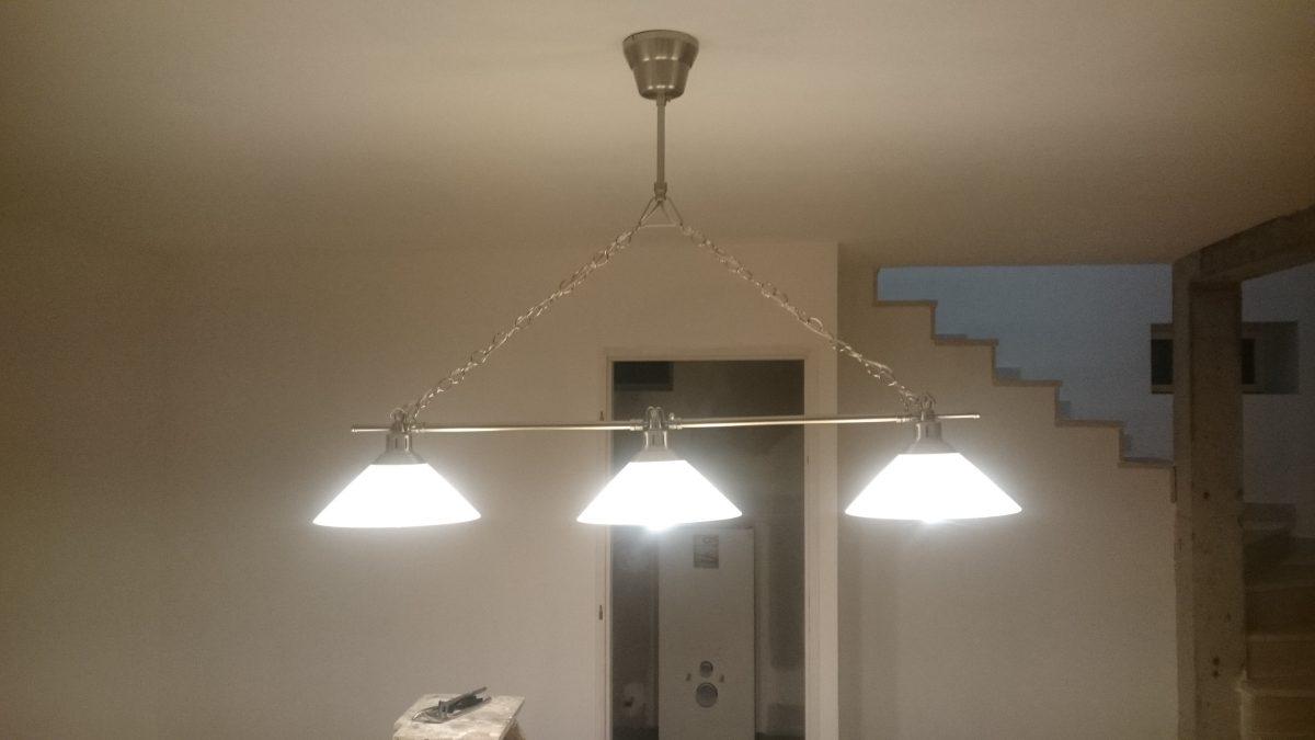 luminaire billard korbe