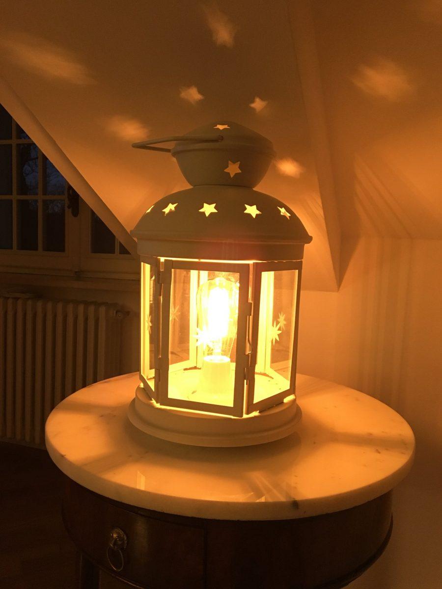Transformer Une Lanterne Ikea En Lampe