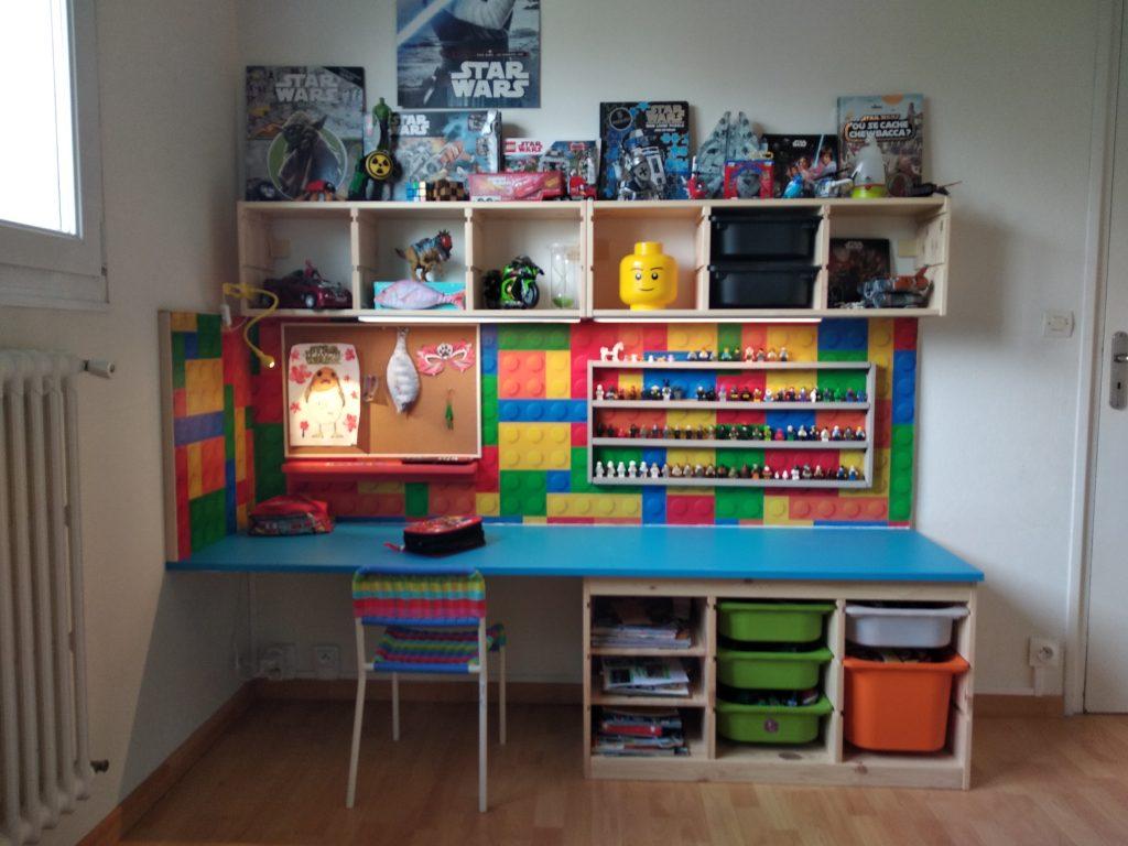 un bureau d enfant diy avec trofast