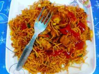 restaurant style chicken chow mein recipe