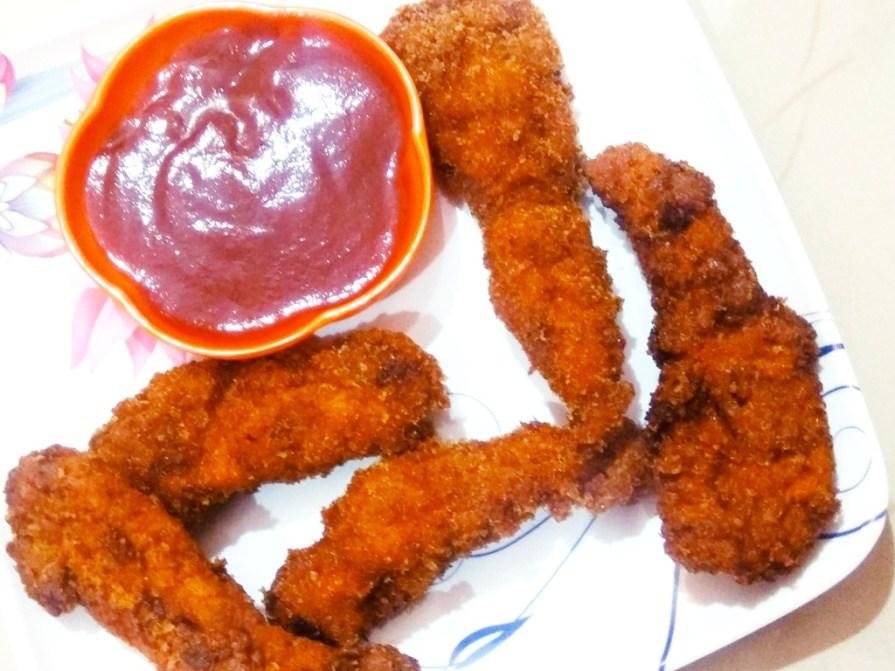 Fried chicken fingers recipe