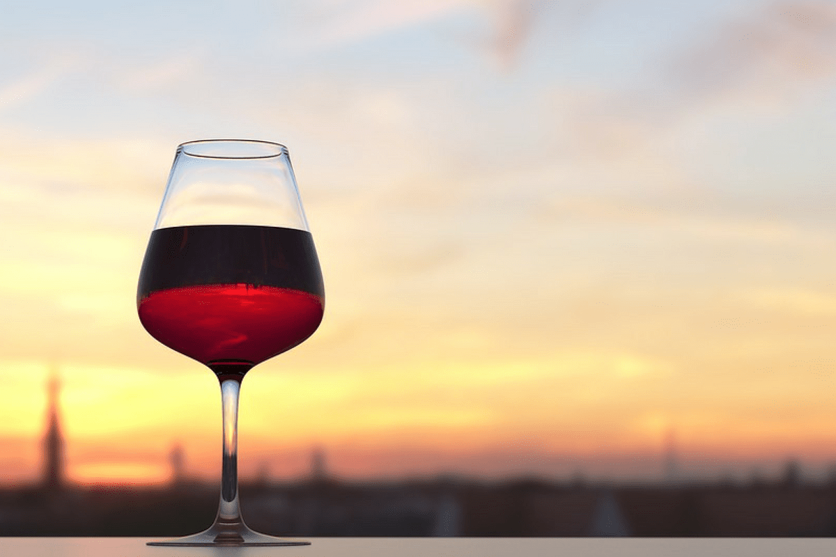 Wine glass, Italian Wine