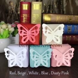 Butterfly Candybox souvenir kotak permen unik