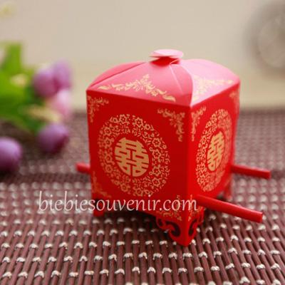 Chinesse Carriage Candybox souvenir kotak permen unik