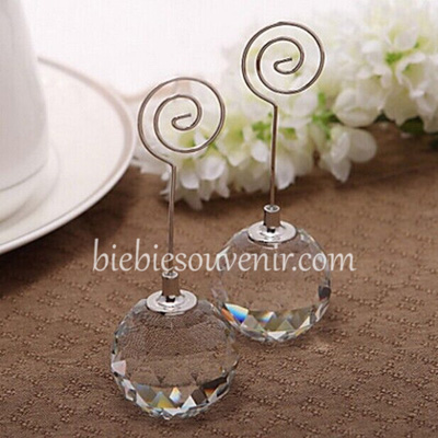Souvenir Crystal Ball photoholder unik elegan