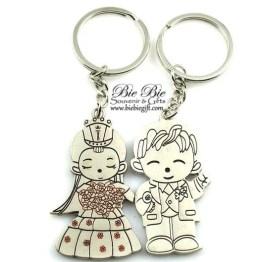 Souvenir Pernikahan Gantungan Kunci Couple CK43