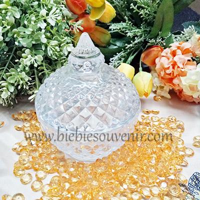 Souvenir pernikahan Belle Crystal Jar