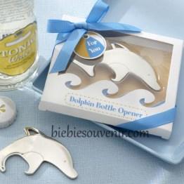 Souvenir pernikahan dolphin bottle opener